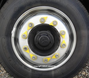 standard wheel nut indicator