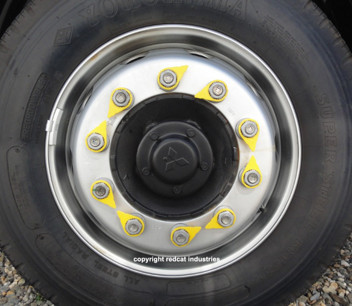standard wheel nut indicator
