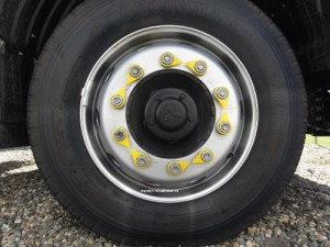 wheel nut indicator