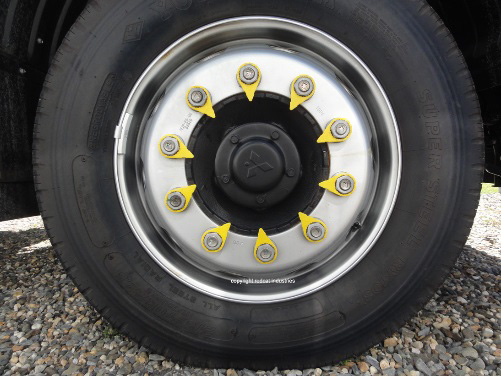 lug nut indicator