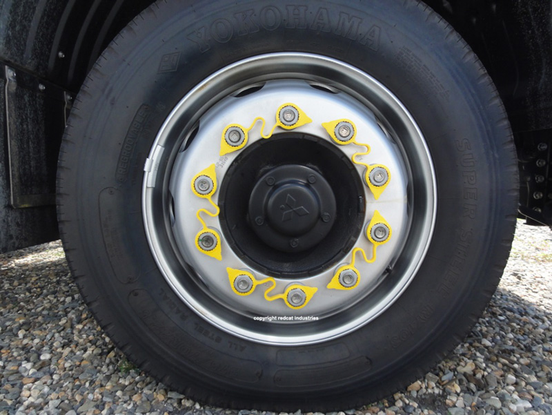 wheel safety indicator