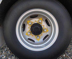 Wheel nut indicators