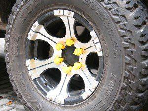 extended wheel nut indicator