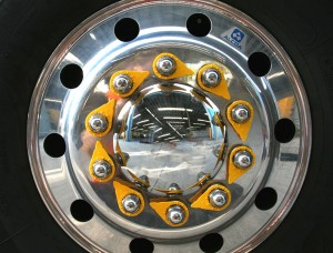 standard checkpoint wheel nut indicators