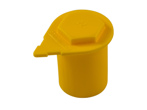 cap wheel indicator yellow