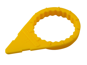 nut indicator 32mm yellow
