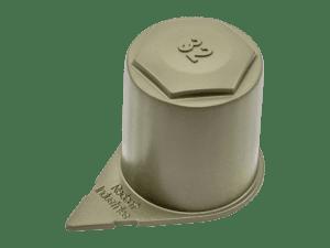 cap type wheel indicator