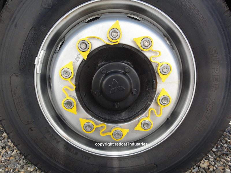 loose lug nut indicators