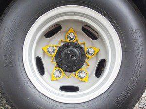 loose wheel nut indicator