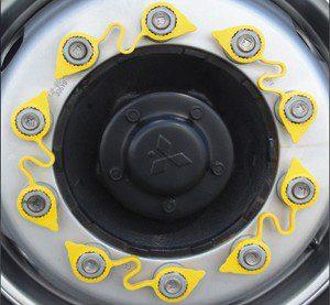 wheel nut lockers